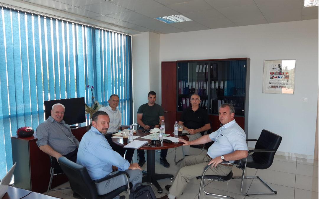 Η Διοίκηση του ΟΣΕΘ συναντά τους επικεφαλής των Δομών Προσωρινής Υποδοχής Μεταναστών