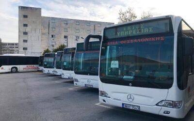 Στο Ελεγκτικό Συνέδριο η σύμβαση για τη συνέχιση του έργου  6 περιαστικών γραμμών από την ΚΤΕΛ Θεσσαλονίκης