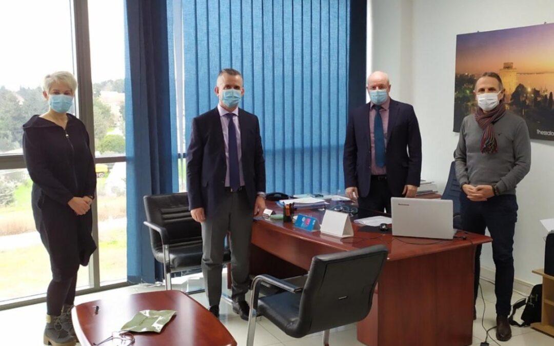 ΟΣΕΘ: 7 συν 1 συγκοινωνιακά θέματα σε σύσκεψη εργασίας με το ΤΕΕ/ΤΚΜ