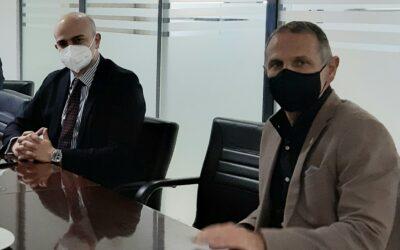 Συνάντηση εργασίας του Γ.Γ. Μεταφορών Γ. Ξιφαρά στον ΟΣΕΘ